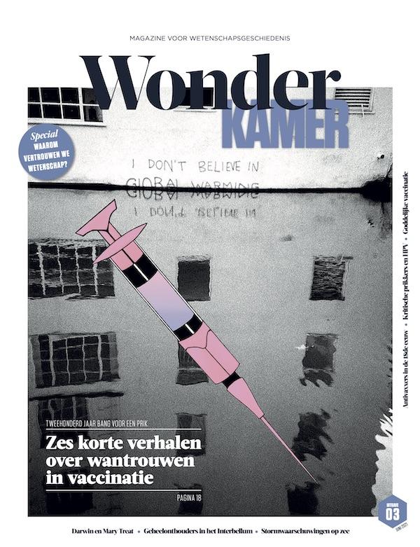 Kaft Wonderkamer 3 met vaccinnaald